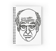Larry David Face Stationary Spiral Notebook