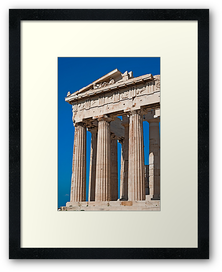 The Parthenon by Konstantinos Arvanitopoulos