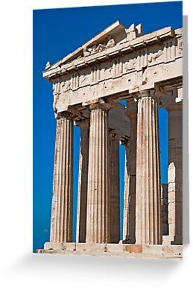 The Parthenon by Konstantinos Arvanitopoulos