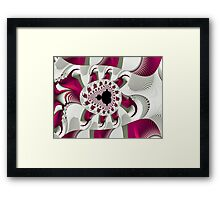 Little Girls Are Made of Spice Framed Print