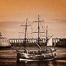 Whitby Harbour 2010 by Kelvin Hughes
