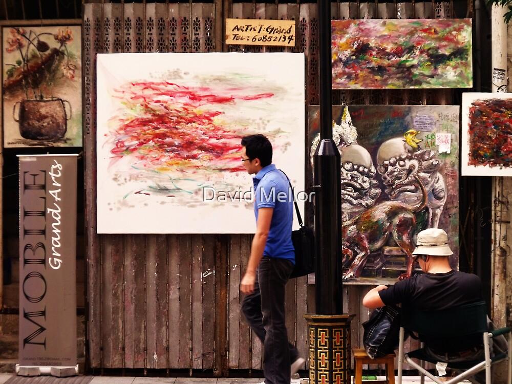 Hollywood Road Gallery, Hong Kong by David Mellor