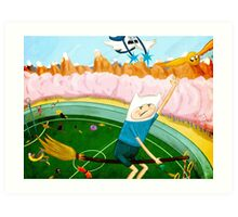 quidditch time Art Print
