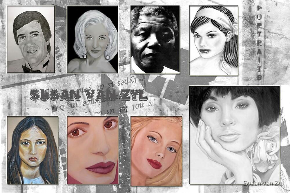 Portrait Collage by Susan van Zyl
