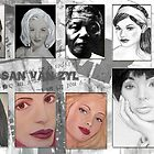 Portrait Collage by Susan van Zyl