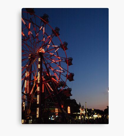 Granville's Annual Fourth of July Fair Canvas Print