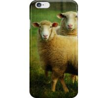 sheepish love iPhone Case/Skin