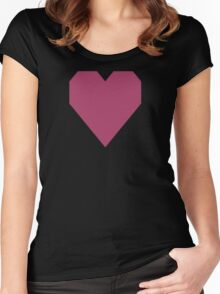 Medium Ruby  Women's Fitted Scoop T-Shirt
