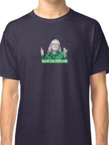 Hillary Lied, People Died Classic T-Shirt