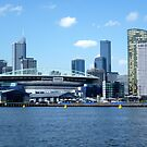 Melbourne from Docklands by TonyCrehan