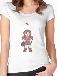 Hungary Women's Fitted Scoop T-Shirt