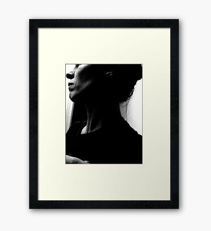 Like Mom.... Framed Print