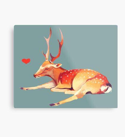 Deer Heart, Metal Print