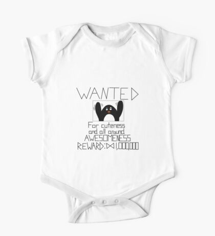 Wanted Penguin One Piece - Short Sleeve