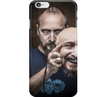 put on a happy face iPhone Case/Skin