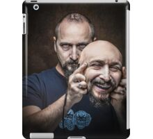 put on a happy face iPad Case/Skin