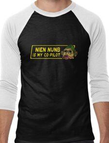 Star Wars - Nien Nunb Is My Co-Pilot Men's Baseball ¾ T-Shirt