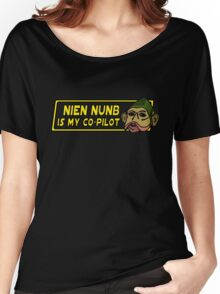 Star Wars - Nien Nunb Is My Co-Pilot Women's Relaxed Fit T-Shirt