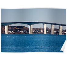 Jamestown Bridge Poster