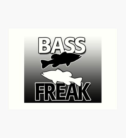Bass Freak - Art/Calendar Art Print