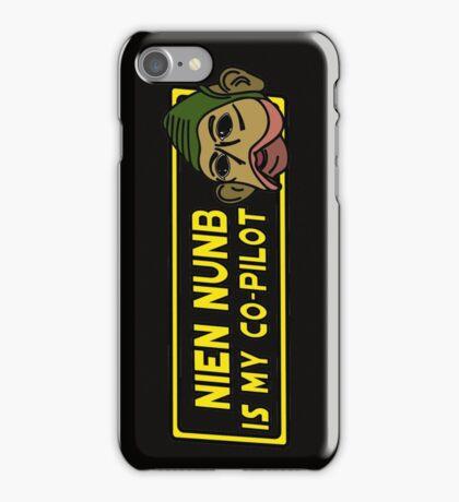 Star Wars - Nien Nunb Is My Co-Pilot iPhone Case/Skin