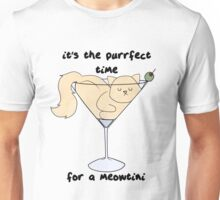 Meowtini Unisex T-Shirt
