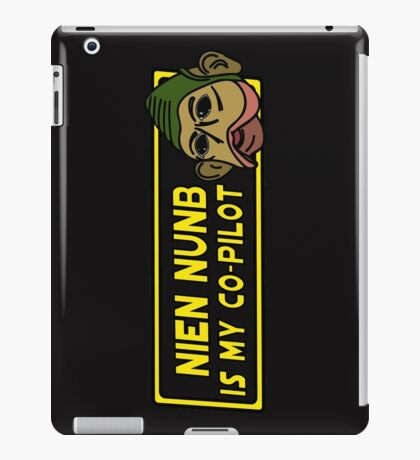 Star Wars - Nien Nunb Is My Co-Pilot iPad Case/Skin