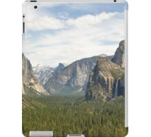 Yosemite Valley iPad Case/Skin