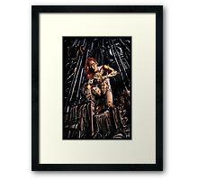 Cyberpunk Painting 063 Framed Print