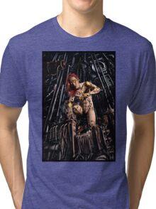 Cyberpunk Painting 063 Tri-blend T-Shirt