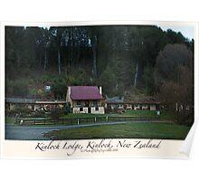 Kinloch Lodge, Kinloch, New Zealand Poster