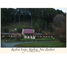 Kinloch Lodge, Kinloch, New Zealand Photographic Print