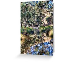 Marne reflections Greeting Card