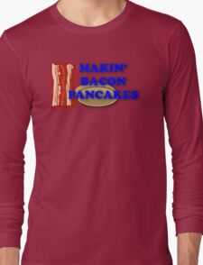 Adventure Time-Makin' Bacon Pancakes Long Sleeve T-Shirt