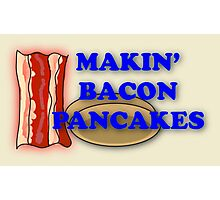 Adventure Time-Makin' Bacon Pancakes Photographic Print
