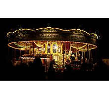 merry go round Photographic Print