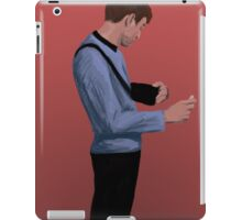 Doctor McCoy and his curly body iPad Case/Skin