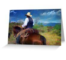 Trail Rider Greeting Card