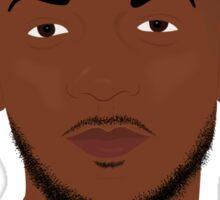 Hip Hop Portrait 7 Sticker