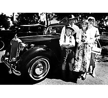 Post war family Photographic Print