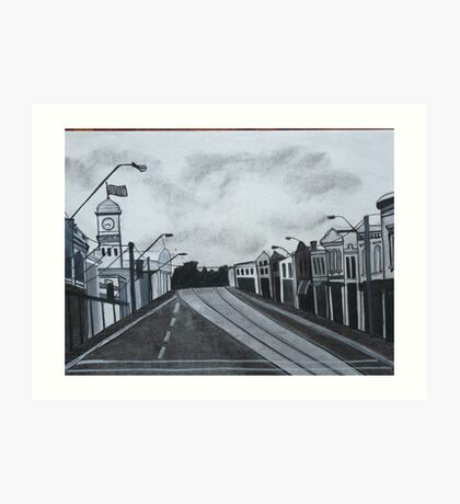 Gray Afternoon Art Print