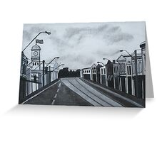 Gray Afternoon Greeting Card