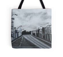 Gray Afternoon Tote Bag