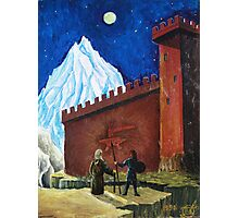 Oil Painting - The Two Forces. Fantasy 1990 Photographic Print