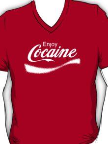 Enjoy Cocaine - Parody T-Shirt