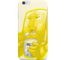 Negative Man's Happy treats iPhone Case/Skin
