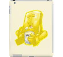 Negative Man's Happy treats iPad Case/Skin