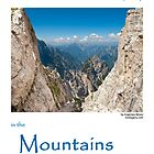 Mountain landscape photo calendar 2011. High Up by evimagery
