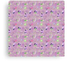 Twilight and Spike Tile Canvas Print