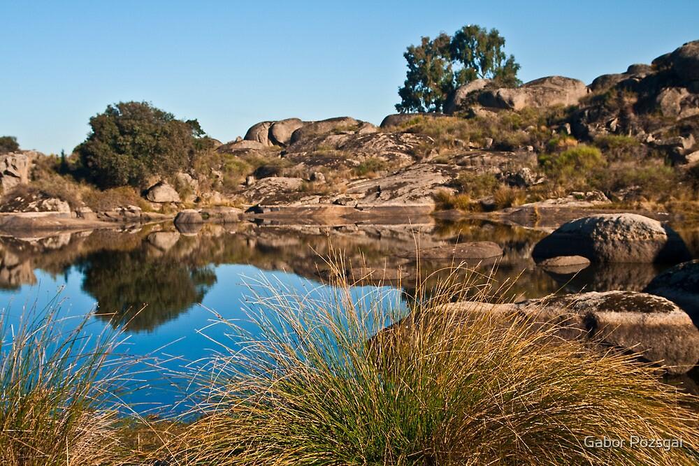 Los Barruecos rock formations by Gabor Pozsgai